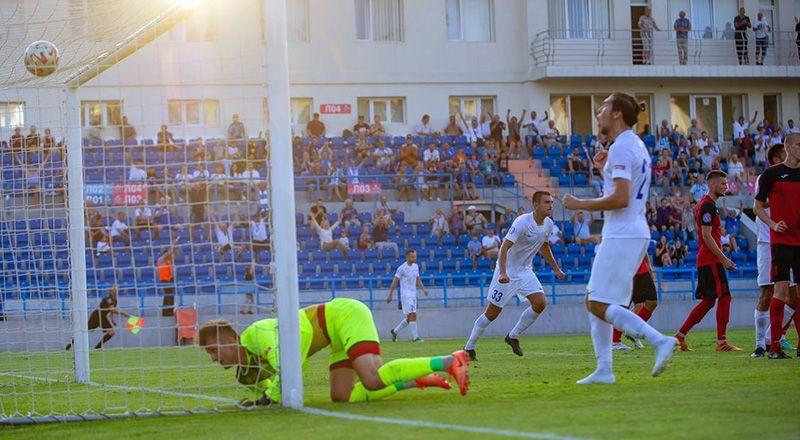 2-й тур ПФЛ КФС: «Севастополь» берет верх над «Рубином Ялта»