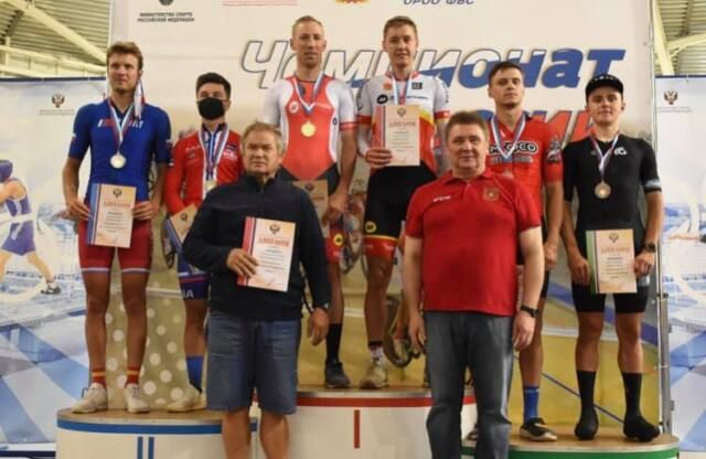 Крымские велосипедисты выиграли медали чемпионата России