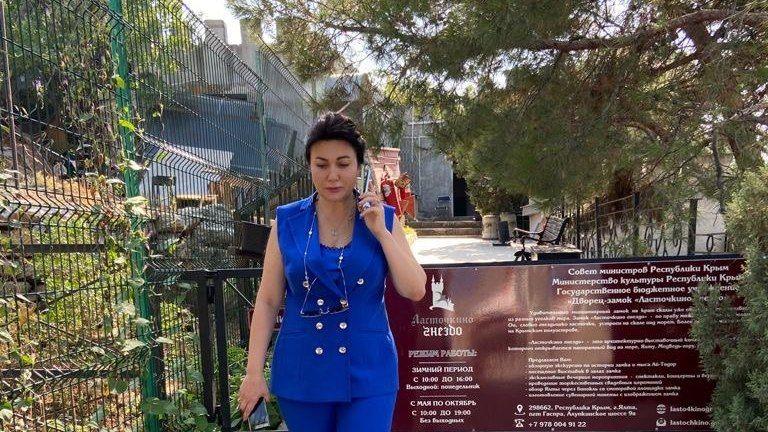 Арина Новосельская с рабочей поездкой посетила Дворец-музей «Ласточкино гнездо» и Алупкинский дворцово-парковый музей-заповедник