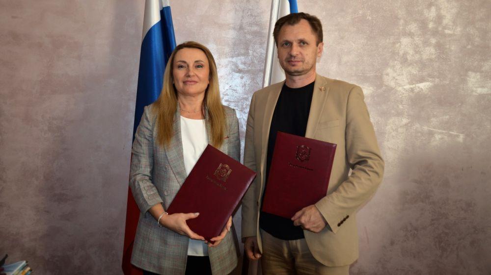 Подписано соглашение с Союзом «Торгово-промышленная палата Республики Крым»