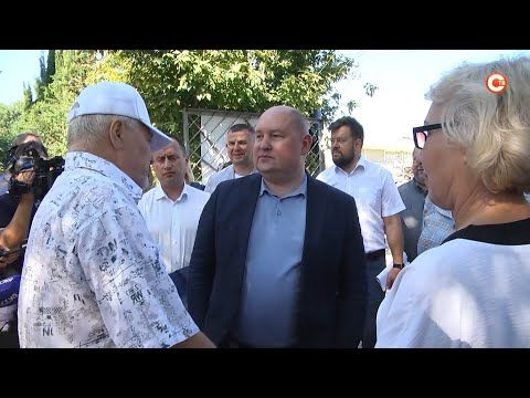 Михаил Развожаев проверил ход работ на объектах Балаклавы (СЮЖЕТ)
