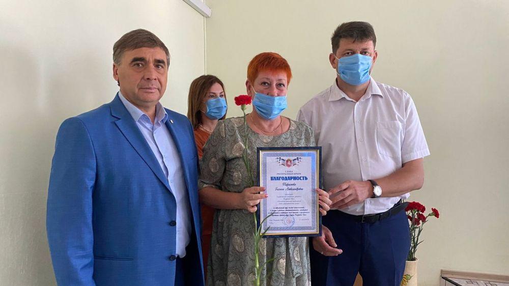 Эффективная деятельность ветеринарной службы республики способствует динамичному развитию агропромышленного комплекса - Андрей Рюмшин