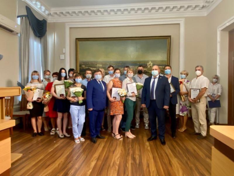 В Севастополе наградили лучших сотрудников ветеринарной службы