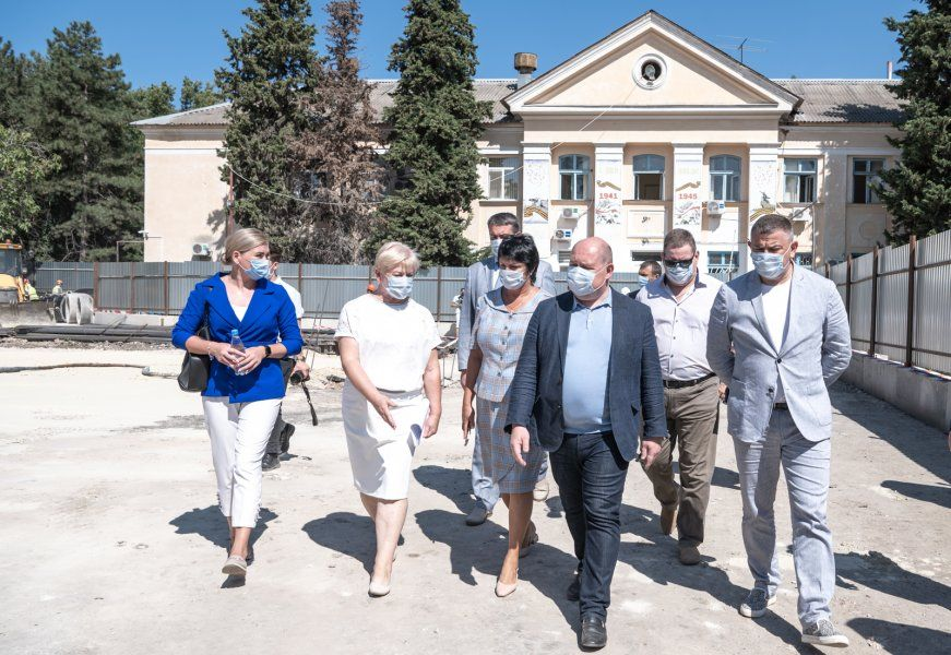 Губернатор посетил Балаклаву с рабочим визитом