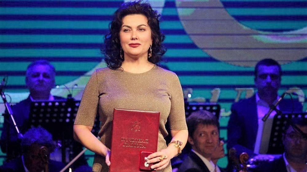 Поздравление министра культуры Республики Крым Арины Новосельской с Днём знаний