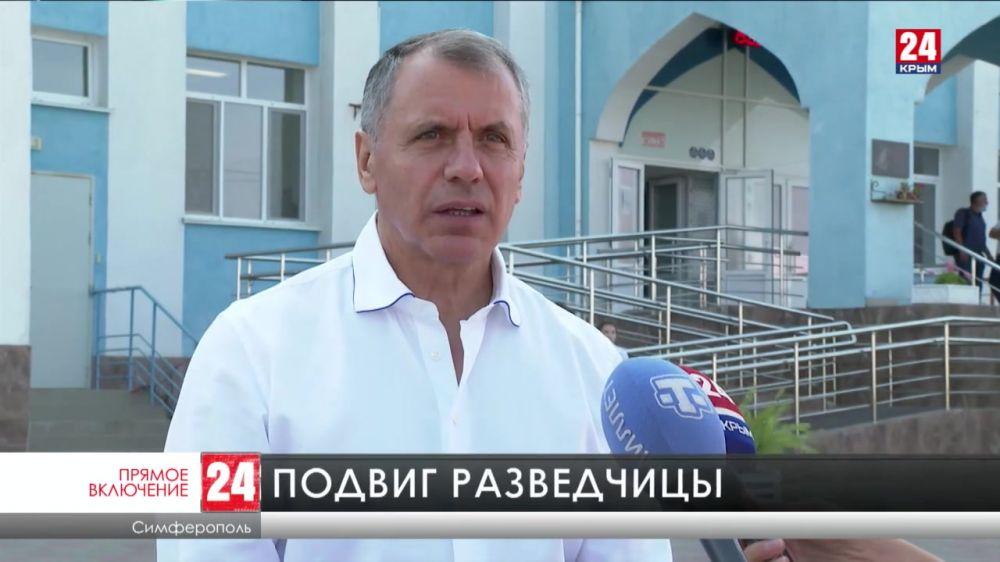 В Симферополе открыли памятник Алиме Абденановой