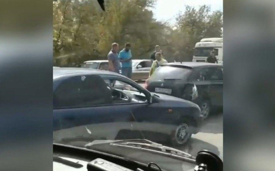 Шесть машин попали в ДТП на объездной в Симферополе
