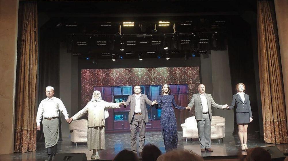 На сцене Крымскотатарского театра стартовали гастроли Башкирского академического театра драмы им. Мажита Гафури