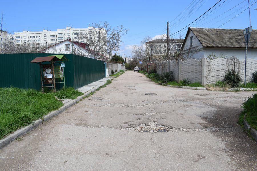 В Севастополе по просьбе жителей отремонтируют дорогу в Сейнерском переулке