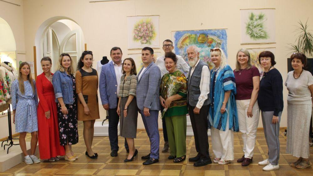 В Крымском этнографическом музее состоялось открытие выставки «Территория ремесел»