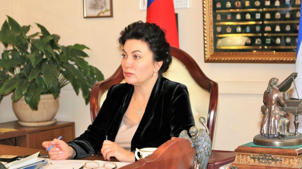 Арина Новосельская приняла участие в совещании по вопросу освоения субъектами РФ средств в рамках государственной программы «Развитие культуры»