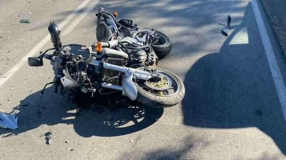 Выехал с обочины и не пропустил: байкер пострадал в ДТП на западе Крыма