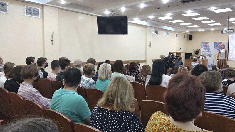 При поддержке Министерства культуры Республики Крым состоялась Открытая трибуна для сельских библиотекарей