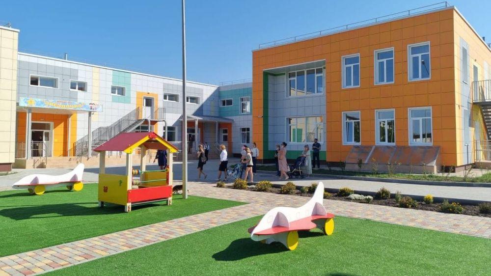 Минстрой РК: В с. Вилино Бахчисарайского района в рамках ФЦП была выполнена реконструкция детского сада на 240 мест