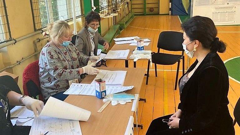 Арина Новосельская проголосовала на выборах депутатов в Государственную Думу Федерального Собрания Российской Федерации