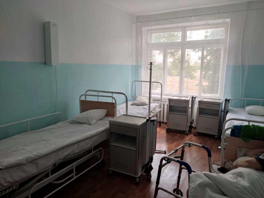 В Нижнегорской районной больнице появилось геронтологическое отделение