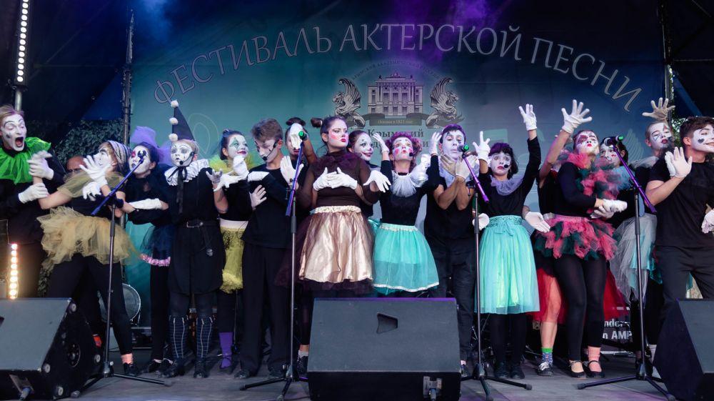 В Симферополе состоялся Фестиваль актерской песни