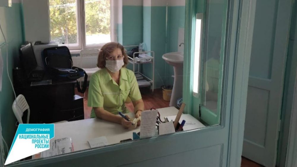 В Нижнегорской районной больнице организовано геронтологическое отделение