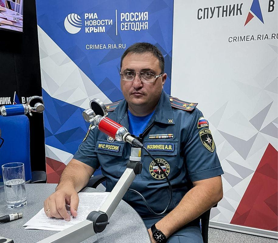 В эфире радио «Спутник в Крыму» о природных пожарах