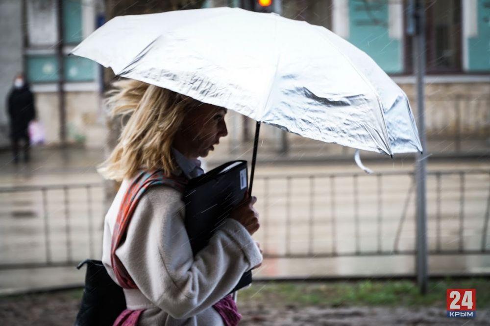 На следующей неделе в Крым придут дожди и похолодание