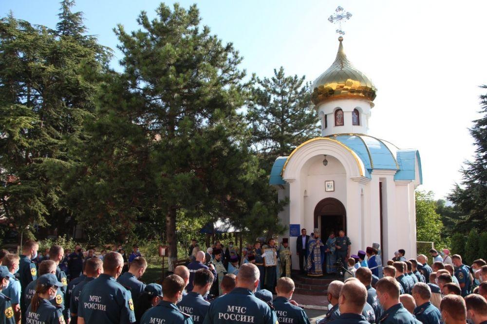 «Неопалимая Купина» оберегает крымских спасателей