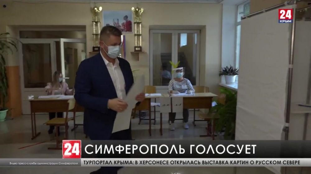В Симферополе открыли 148 избирательных пунктов