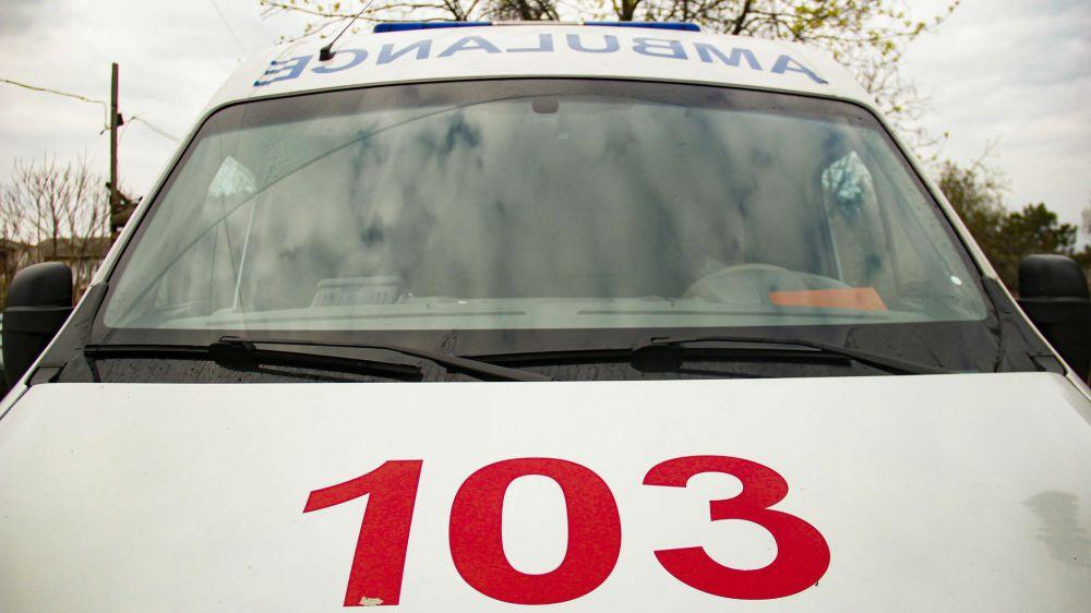 В Симферополе обокрали машину скорой помощи