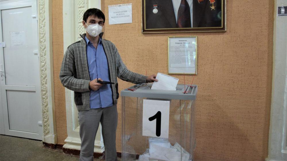 Глава Красногвардейского района Роман Шантаев сделал свой выбор!