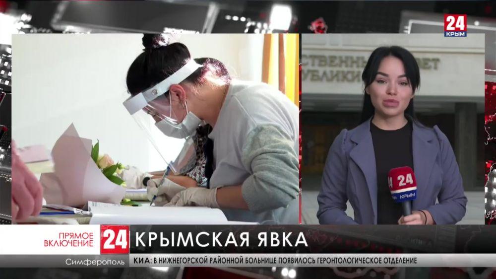 В первый день выборов в Госдуму проголосовали 21,15% крымчан