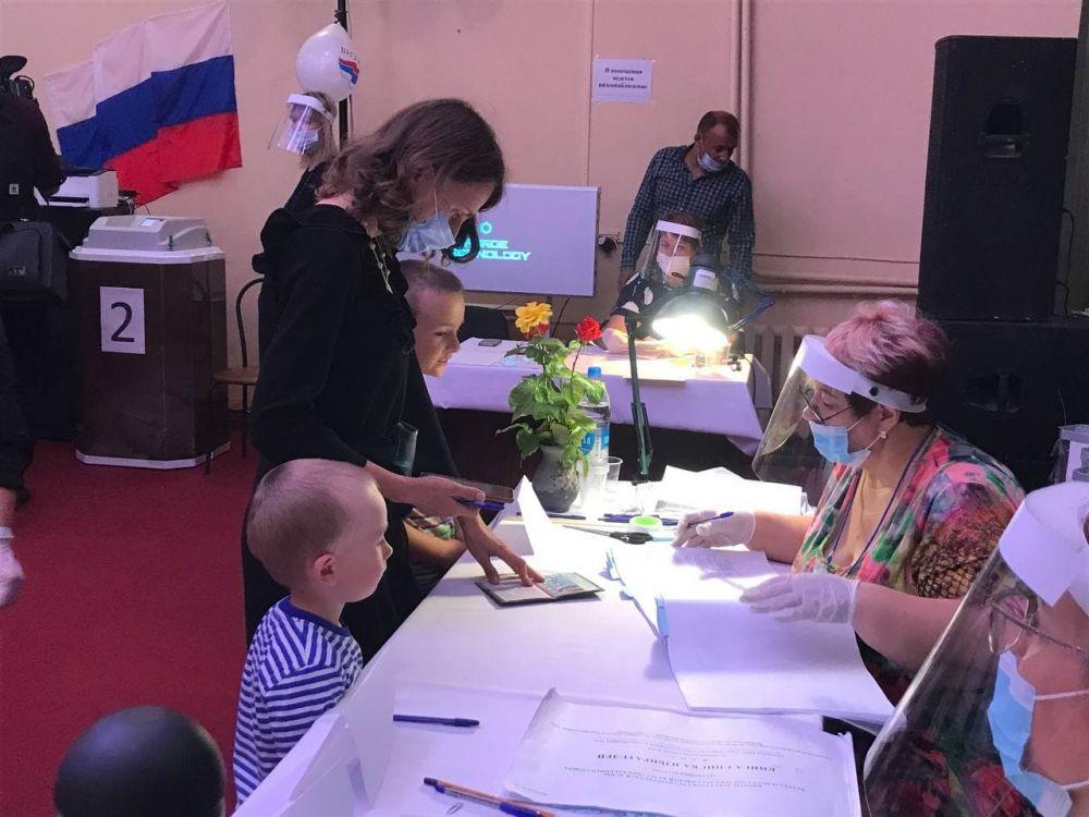 В Республике Крым самая высокая явка в Красноперекопске