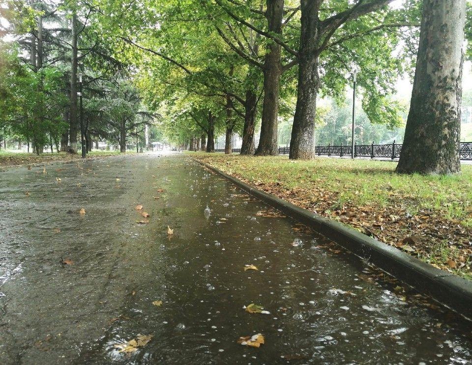 Погода в Крыму на 18 сентября: дожди и тепло до +25