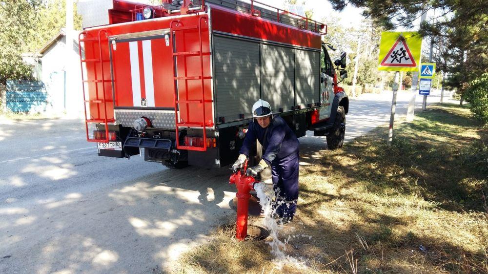 С целью предотвращения возгораний в экосистемах сотрудники ГКУ РК «Пожарная охрана Республики Крым» продолжают проводить профилактические мероприятия