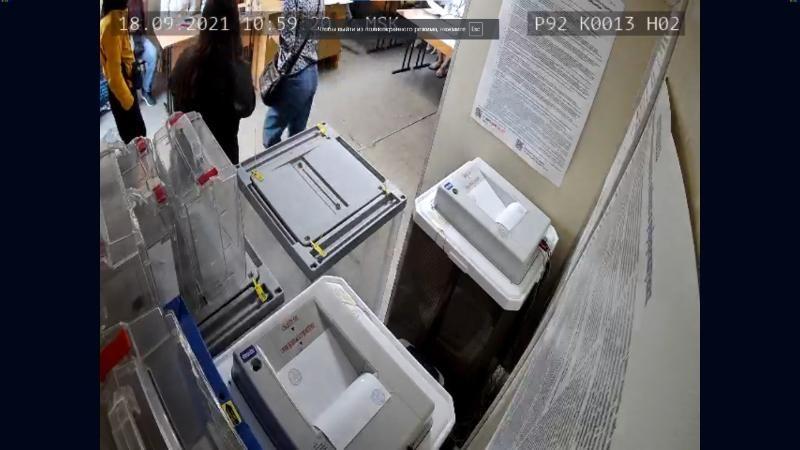 На одном из участков Севастополя голосование продолжится в резервный стационарный ящик