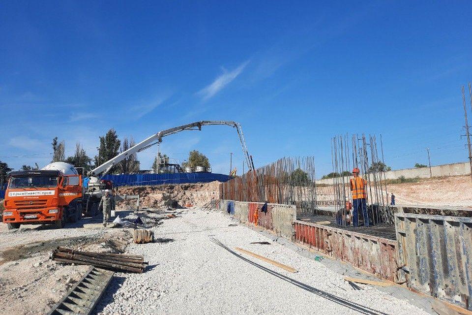 На севастопольских КОС «Южные» залили первый бетон