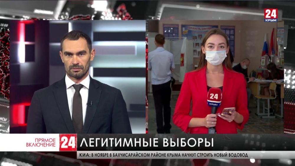 В Севастопольской избирательной комиссии опровергли фейк о нарушениях в процессе голосования
