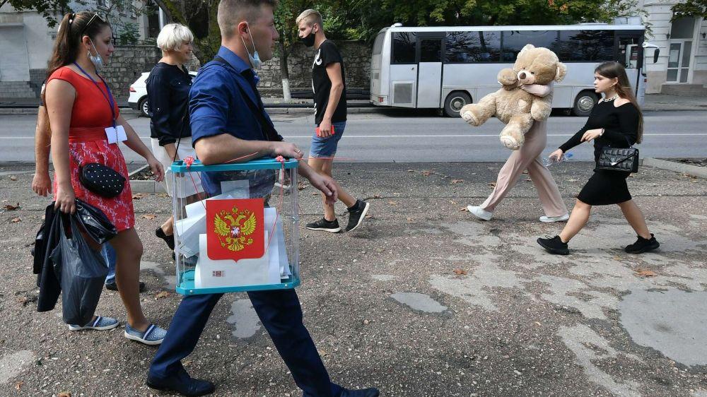 В каких регионах Крыма активнее всего голосуют на выборах