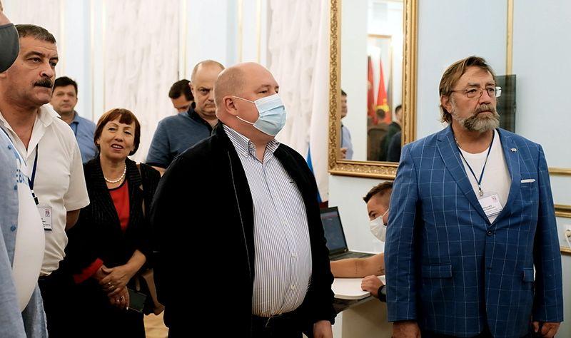 Михаил Развожаев поблагодарил всех, принявших участие в выборах