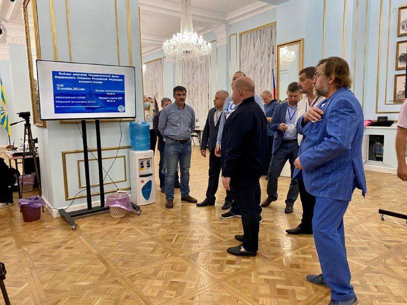 Михаил Развожаев поблагодарил севастопольцев за участие в выборах