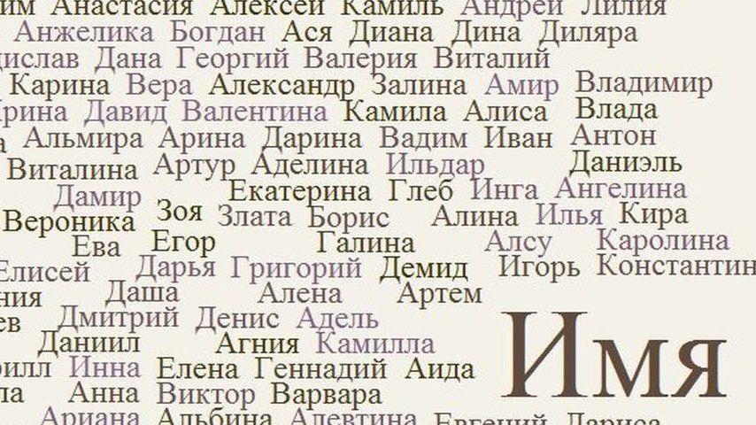 Иван и Анна по-прежнему являются актуальными именами для наречения крымских новорожденных
