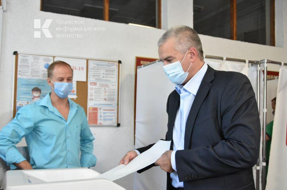 Аксёнов прокомментировал итоги выборов в Госдуму в Крыму