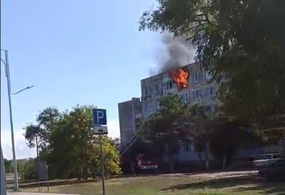 В Евпатории пожар унес жизнь одного человека