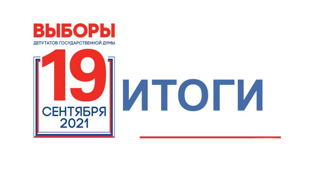 В Черноморском районе подвели итоги выборов депутатов Госдумы