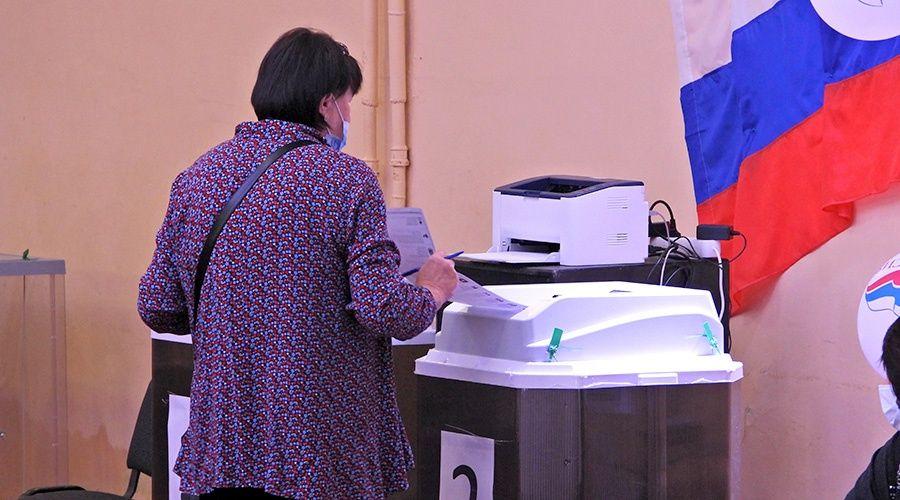 Явка на выборах в Госдуму в Севастополе оказалась на уровне крымской