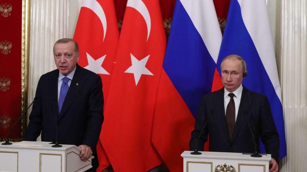 Путин и Эрдоган проведут переговоры в Сочи