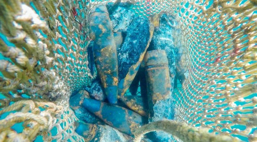 Крымские спасатели уничтожили более 4,5 тыс боеприпасов с теплохода «Жан Жорес»