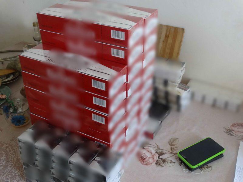В Ялте полицейские изъяли около 6 тысяч пачек контрафактной табачной продукции