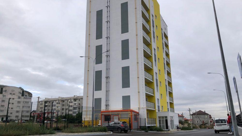 На завершающей стадии строительство дома для реабилитированных граждан в Симферополе