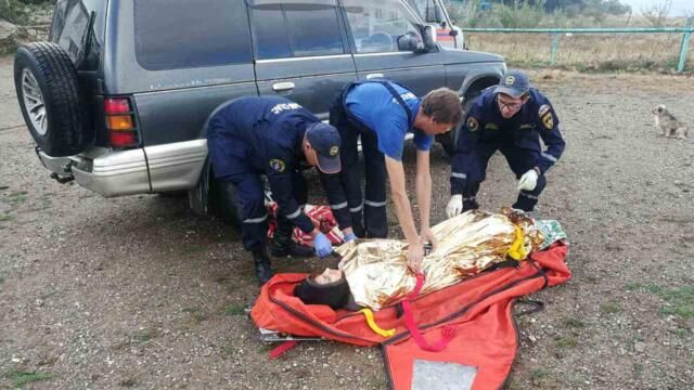 Туристка взорвала палатку на Демерджи