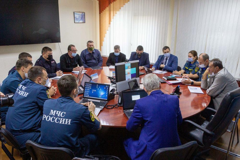Республика Крым принимает участие в командно-штабных учениях Южного федерального округа