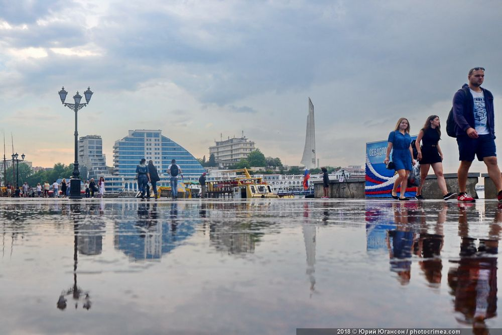 Прогноз погоды на 21 сентября: в Севастополе и Крыму ожидаются дожди
